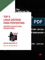 Top 5 Linux Distros Para Pentesting - Karina Astudillo