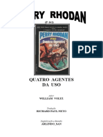 P-161 - Quatro Agentes Da USO - William Voltz