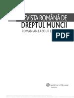 Revista Romana de Dreptul Muncii 10_2016