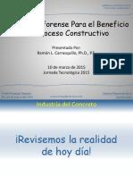 2.0 Ingeniería Forense Para El Beneficio Del Proceso Constructivo
