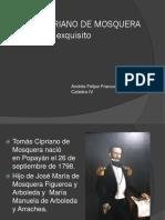 Unidad 5 Tomás Cipriano de Mosquera - Andrés Felipe Franco