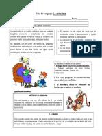 Guía de Lenguaje La Anecdota