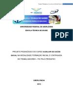 Projeto Pedagógico Auxiliar de Saúde Bucal