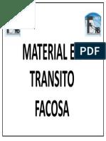 Material en Transito