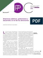 Informe de CIPPEC sobre las empresas públicas