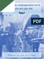 Las Primeras Congregaciones en La Espania Del Siglo Xix 1 Manuel de Leon de La Vega