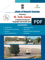 M Tech Course Brochure