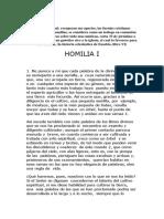 HOMILIA I  origenes