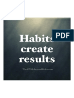 Habits Create Results