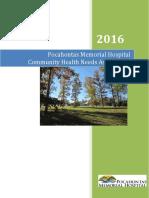 Pocahontas Memorial Hospital CHNA 2016