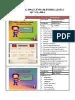Daftar Media Dan Software Pembelajaran Matematika Rev
