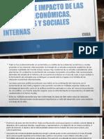 Objetivos e Impacto de Las Políticas Económicas