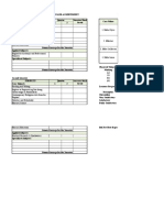 Template Report Card