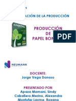 Proceso Productivo Papel - Apaza - PRODEX