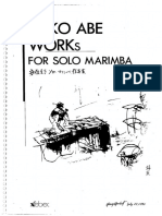 Works for Solo Marimba