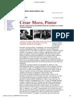 Cesar Moro Pintor Caretas 2000
