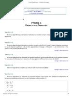 Cours d'Algorithmique - Christophe Darmangeat Enonce