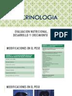 Evaluacion Nutricional, Desarrollo y Crecimiento