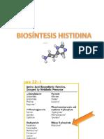 Sintesis de Histidina
