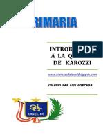 Introducción a La Química de Karozzi