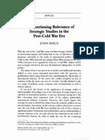 Baylis- Continuing relevance of strat studies 2001.pdf