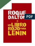 ROQUE DALTON Un Libro Rojo para Lenin