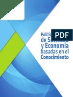 Politica Nacional de Sociedad y Economia Basadas en El Conocimiento
