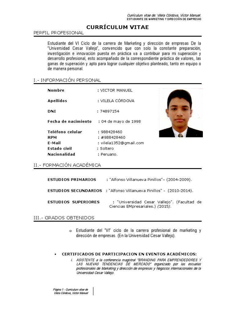 CURRICULUM VITAE VICTOR MANUEL VILELA CÓRODOVA.doc