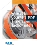 Volume 13Counters, Timers and Tachometers