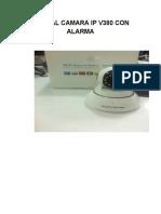 Manual Camara IPV380 Con Alarma