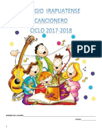 cancionero 2017 - 2018