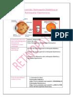 clase invertida retinopatia diabetica vs retinopatia hipertensiva