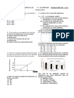 Examen de Mejora 3o. Sec.2013