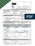 FUE Licencia Editable