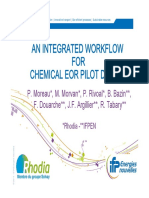 An Integrated Workflow for Chemical EOR Pilot Desing - PPT