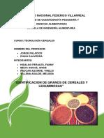 - Identificacion de Granos de Cereales y Leguminosas