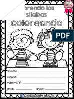 Aprendo Silabas Coloreando PDF