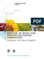 2016.FAO.protocol to Detect and Monitor Pollinator Communities