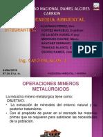 Operaciones Metalurgicos Yeni