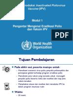 Modul 1_Pengantar Mengenai Eradikasi Polio Dan Vaksin IPV