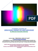 Vibrational Therapy of Light and Sound