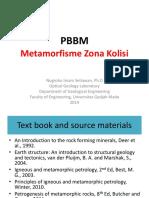 Kuliah 11 Collision Zone Metamorphism