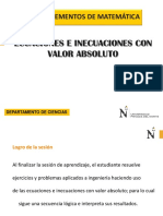 Ppt- Icuaciones Con Valor Absoluto