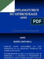 AINES FARMACOLOGIA  MÉDICA