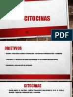 Aula 02 - CITOCINAS - MHC - Apresentação Antigênica - 2018.1