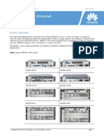 NE20E Series Universal Service Routers Data Sheet