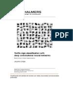 Clasificación de Señales de Transito Con Redes Neuronales Convolucionales Profundas