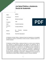 Tabajo del Ministerio de Salud Pública y Asistencia Social de Guatemala.docx