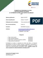 Términos Convocatoria Reconocimientos Periodismo Cultural 2017