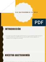 Influencia Gastronómica en Chile